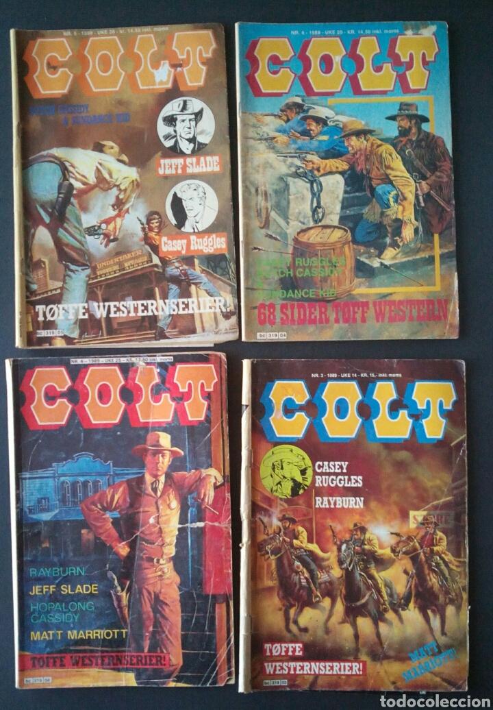 Cómics: CTC - LOTE 46 COMIC COLT EN IDIOMA NORUEGO - VAN DEL 1978 AL 1990 - COLT WESTERN NORWAY - Foto 14 - 153541050