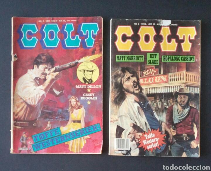Cómics: CTC - LOTE 46 COMIC COLT EN IDIOMA NORUEGO - VAN DEL 1978 AL 1990 - COLT WESTERN NORWAY - Foto 15 - 153541050