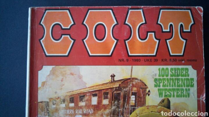 Cómics: CTC - LOTE 46 COMIC COLT EN IDIOMA NORUEGO - VAN DEL 1978 AL 1990 - COLT WESTERN NORWAY - Foto 17 - 153541050