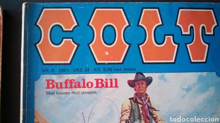 Cómics: CTC - LOTE 46 COMIC COLT EN IDIOMA NORUEGO - VAN DEL 1978 AL 1990 - COLT WESTERN NORWAY - Foto 18 - 153541050
