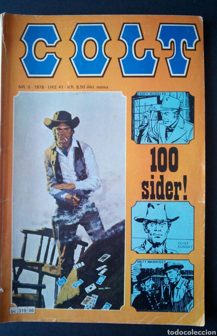 Cómics: CTC - LOTE 46 COMIC COLT EN IDIOMA NORUEGO - VAN DEL 1978 AL 1990 - COLT WESTERN NORWAY - Foto 19 - 153541050