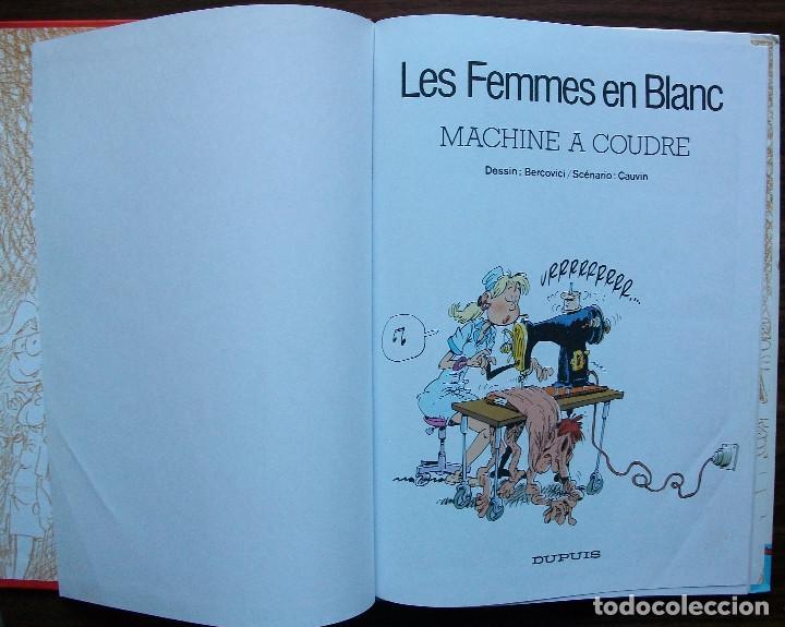 Cómics: LES FEMMES EN BLANC. MACHINE A COUDRE (EN FRANCES) - Foto 2 - 153920550