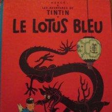 Cómics: LE LOTUS BLEU-HERGE-TINTIN -CASTERMAN. Lote 153958986