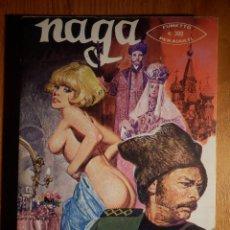 Cómics: COMIC ITALIANO - NAGA - LA VERA FLIGIA DELLO ZAR - AÑO II Nº 14 - 1976. Lote 154139086