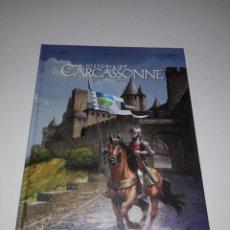 Cómics: COMIC-LA HISTORIA DE CARCASSONNE-EDITEURS DU SIGNE-EN ESPAÑOL-VER FOTOS. Lote 154208586