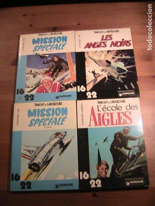 TANGUY ET LAVERDURE. LOTE DE 4 TOMOS EN FRANCÉS. FORMATO POCKET. (Tebeos y Comics - Comics Lengua Extranjera - Comics Europeos)