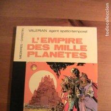 Cómics: VALERIAN. EL IMPERIO DE LOS MIL PLANETAS. ORIGINAL FRANCÉS POCKET.. Lote 154669130