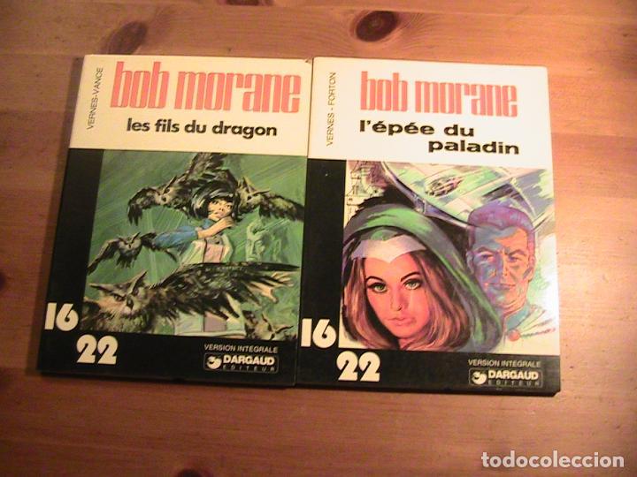 BOB MORANE. 2 TOMOS ORIGINAL FRANCÉS. DARGAUD. (Tebeos y Comics - Comics Lengua Extranjera - Comics Europeos)