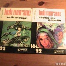Cómics: BOB MORANE. 2 TOMOS ORIGINAL FRANCÉS. DARGAUD.. Lote 154820938