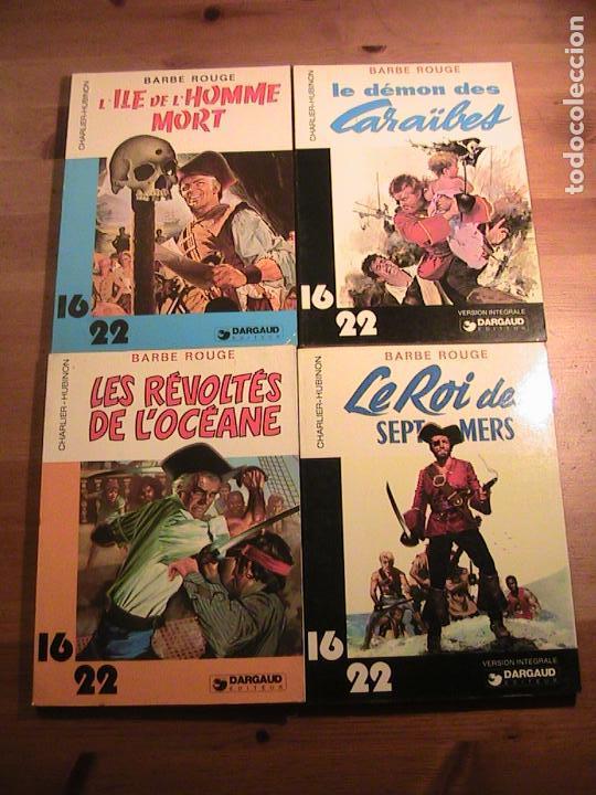 BARBE ROUGE. 4 TOMOS ORIGINAL FRANCÉS. DARGAUD. (Tebeos y Comics - Comics Lengua Extranjera - Comics Europeos)