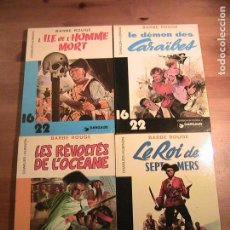 Cómics: BARBE ROUGE. 4 TOMOS ORIGINAL FRANCÉS. DARGAUD.. Lote 154821070