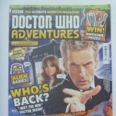 Cómics: REVISTA DOCTOR WHO ADVENTURES .. DE LA BBC , REINO UNIDO. EN INGLES .. 2014. Lote 155453306