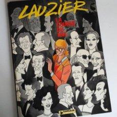 Cómics: LAUZIER, LA COURSE DU RAT, LA CARRERA DE LA RATA, ORIGINAL FRANCÉS.. Lote 155924826