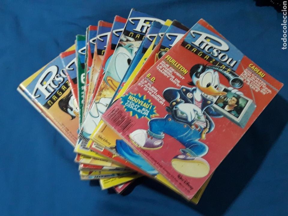 LOTE DE 19 PICSOU MAGAZINE WALT DISNEY (Tebeos y Comics - Comics Lengua Extranjera - Comics Europeos)