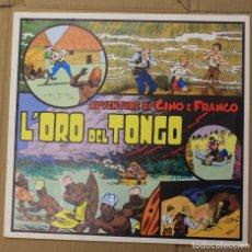 Cómics: AVVENTURE DI GINO E FRANCO. L'ORO DEL TONGO. COLLECTION TIM TYLER'S LUCK Nº 1. AUGUST 1976. ITALIANO. Lote 156836286
