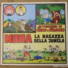 Cómics: AVVENTURE DI GINO E FRANCO NONA LA RAGAZZA DELLA JUNGLA COLLECTION TIM TYLER'S LUCK Nº 3 AUGUST 1976. Lote 156836618