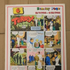 Cómics: TERRY AND THE PIRATES. SUNDAY PAGE 12/9/1934-8/23/1936. Nº 6. COMIC ART EDITRICE. ITALIANO. Lote 156837170