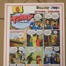 Cómics: TERRY AND THE PIRATES. SUNDAY PAGE 12/9/1934-8/23/1936. Nº 5. COMIC ART EDITRICE. ITALIANO. Lote 156837325