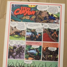 Cómics: STEVE CANYON. MILTON CANIFF. COMIC ART EDITRICE. ITALIANO. 1975. Lote 156838148