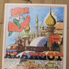 Cómics: BRICK BRADFORD. LA FORTEZZA DI ALAMOOT 2ª PARTE. COMIC ART EDITRICE. ITALIANO. 1975. Lote 156838714