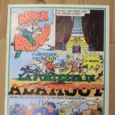 Cómics: BRICK BRADFORD. LA FORTEZZA DI ALAMOOT 3ª PARTE. COMIC ART EDITRICE. ITALIANO. 1975. Lote 156838889