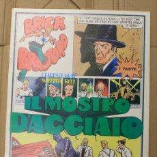 Cómics: BRICK BRADFORD. IL MOSTRO D'ACCIAIO. 1ª PARTE. COMIC ART EDITRICE. ITALIANO. 1975. Lote 156838990