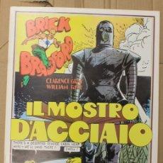 Cómics: BRICK BRADFORD. IL MOSTRO D'ACCIAIO. 2ª PARTE. COMIC ART EDITRICE. ITALIANO. 1975. Lote 156839070