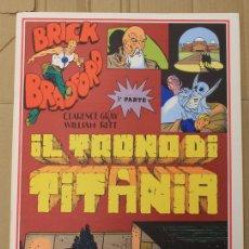 Cómics: BRICK BRADFORD. IL TRONO DI TITANIA. 3ª PARTE. COMIC ART EDITRICE. ITALIANO. 1977. Lote 156839172
