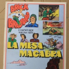 Cómics: BRICK BRADFORD. LA MESA MACABRA. COMIC ART EDITRICE. ITALIANO. 1977. Lote 156840236
