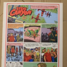 Cómics: STEVE CANYON. MILTON CANIFF. COMIC ART EDITRICE. ITALIANO. 1975. Lote 156840454