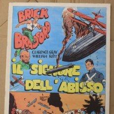 Cómics: BRICK BRADFORD. IL SIGNORE DELL'ABISSO. COMIC ART EDITRICE. ITALIANO. 1974. Lote 156840672