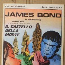 Cómics: JAMES BOND DI IAN FLEMING. IL CASTELLO DELLA MORTE. N. 92. ED. C. CONTI, 1976. ITALIANO. Lote 156840866