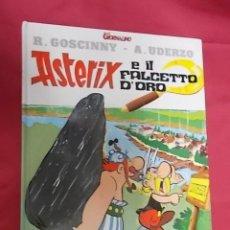 Cómics: ASTERIX E IL FALCETTO D'ORO. GIORNALINO. EN ITALIANO. Lote 156918838