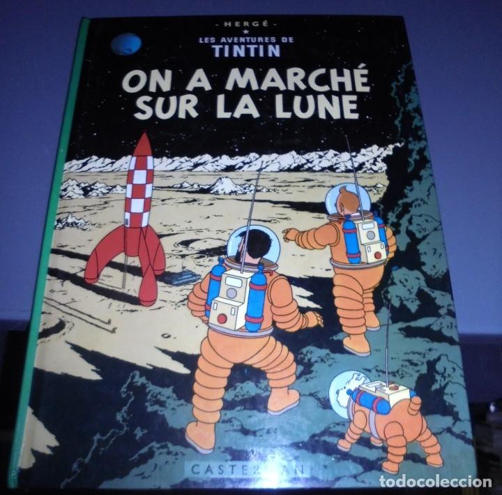 Cómics: HERGE. LES AVENTURES DE TINTIN. ON A MARCHE SUR LA LUNE. EDITORIAL CASTERMAN. 1982. EN FRANCES - Foto 2 - 114753935