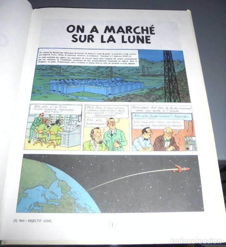 Cómics: HERGE. LES AVENTURES DE TINTIN. ON A MARCHE SUR LA LUNE. EDITORIAL CASTERMAN. 1982. EN FRANCES - Foto 3 - 114753935
