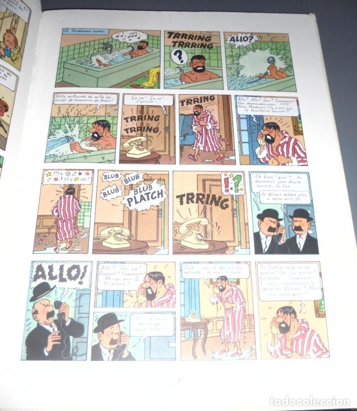 Cómics: HERGE. LES AVENTURES DE TINTIN. COKE EN STOCK. EDITORIAL CASTERMAN. 1987. EN FRANCES - Foto 3 - 151391509