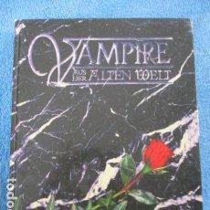 Cómics: VAMPIRE AUS DER ALTEN WELT (EN ALEMAN). Lote 158316250