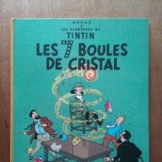 Cómics: LES AVENTURES DE TINTIN, LES 7 BOULES DE CRISTAL SEPT, HERGE, CASTERMAN, 1982. Lote 158321450