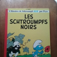 Cómics: LES SCHTROUMPFS NOIRS, PEYO, DUPUIS, 1985. Lote 158322462