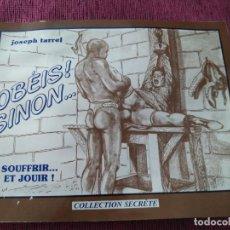 Cómics: 1977. OBEDECE! SI NO...JOSEPH FARREL. COLECCIÓN SECRETA.. Lote 158730938