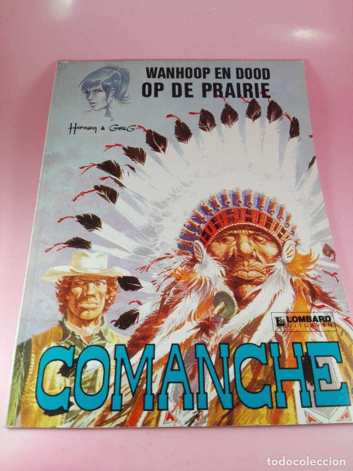 COMIC-WANHOOP EN DOOD OP DE PRAIRIE-COMANCHE 2-LOMBARD-NEEDANLÉRS-1978-COMO NUEVO-VER FOTOS (Tebeos y Comics - Comics Lengua Extranjera - Comics Europeos)