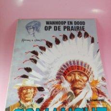 Cómics: COMIC-WANHOOP EN DOOD OP DE PRAIRIE-COMANCHE 2-LOMBARD-NEEDANLÉRS-1978-COMO NUEVO-VER FOTOS. Lote 160009798