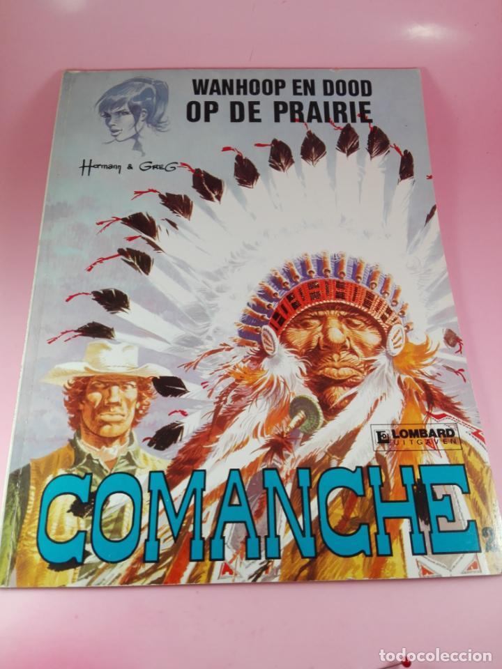 Cómics: COMIC-WANHOOP EN DOOD OP DE PRAIRIE-COMANCHE 2-LOMBARD-NEEDANLÉRS-1978-COMO NUEVO-VER FOTOS - Foto 2 - 160009798