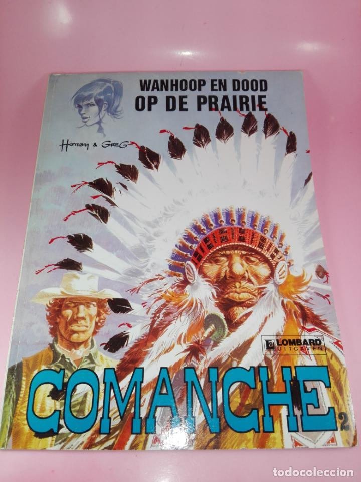 Cómics: COMIC-WANHOOP EN DOOD OP DE PRAIRIE-COMANCHE 2-LOMBARD-NEEDANLÉRS-1978-COMO NUEVO-VER FOTOS - Foto 3 - 160009798