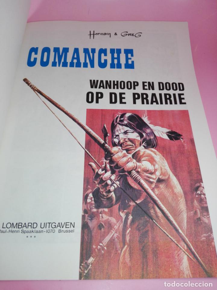 Cómics: COMIC-WANHOOP EN DOOD OP DE PRAIRIE-COMANCHE 2-LOMBARD-NEEDANLÉRS-1978-COMO NUEVO-VER FOTOS - Foto 5 - 160009798