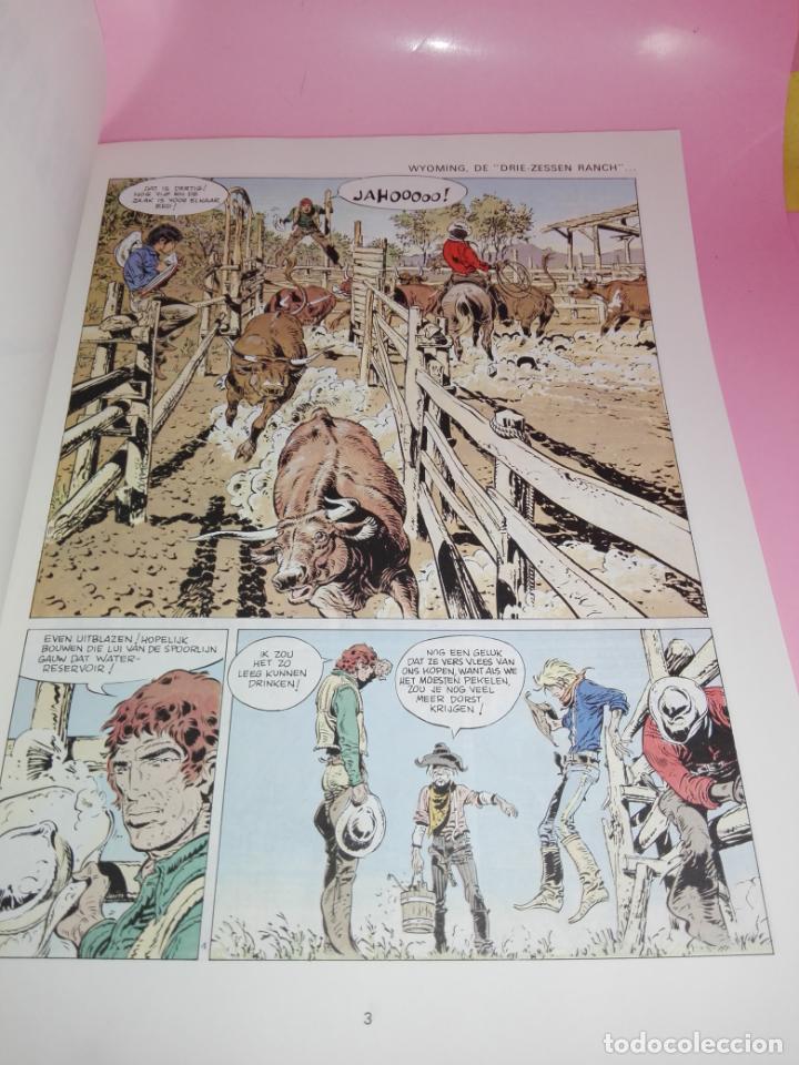 Cómics: COMIC-WANHOOP EN DOOD OP DE PRAIRIE-COMANCHE 2-LOMBARD-NEEDANLÉRS-1978-COMO NUEVO-VER FOTOS - Foto 9 - 160009798