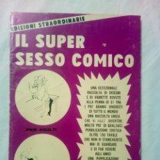 Cómics: IL SUPER SESSO COMICO Nº 3 EDIZIONI STRAORDINARIE 1972. Lote 161249986