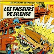 Cómics: NIC ET CAUVIN - SPIROU ET FANTASIO Nº 32 - LES FAISSEURS DU SILENCE - DUPUIS 2001 - EN FRANCES. Lote 162419974