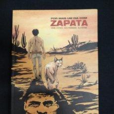 Cómics: POR MAIS UM DIA COM ZAPATA - DANIEL ESTEVES - EN PORTUGUES - . Lote 162691166