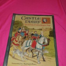Cómics: CASTLE DIARY, THE JOURNAL OF TOBIAS BURGESS, PAGE , TRANSCRIBED BY RICHARD PLATT.. Lote 162830222